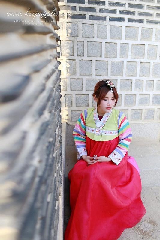 【遊記】《2016首爾自由行》第一次穿韓服就上手。Oneday Hanbok