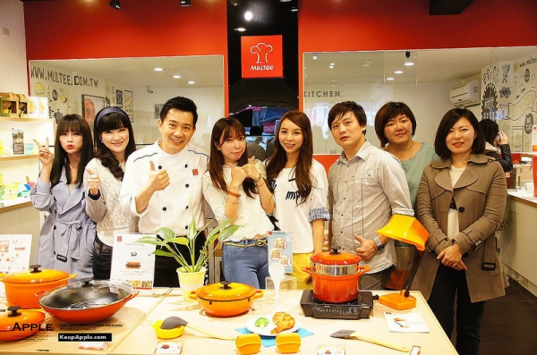 【COOKING】摩堤Multee烹飪班上課囉!!三道鑄鐵鍋創意料理食譜分享
