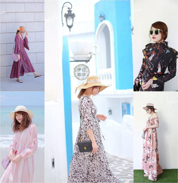 【穿搭】夏日洋裝蒐藏特輯 // 對One piece的愛停不下來。