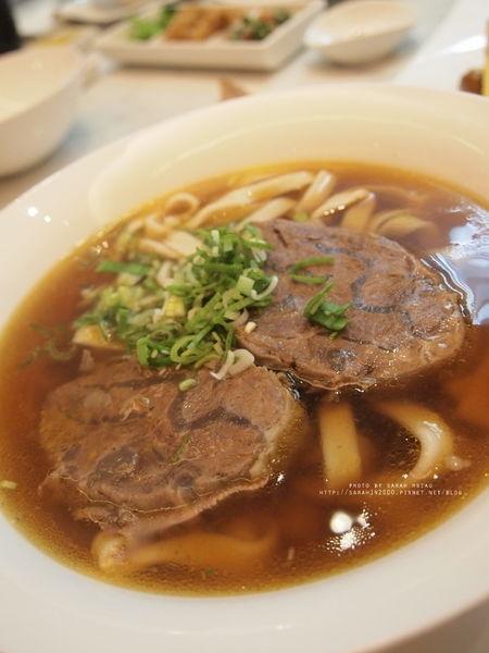 【台北大安│天下三絕麵食館】真材實料沒有人工加味的厚切牛肉麵