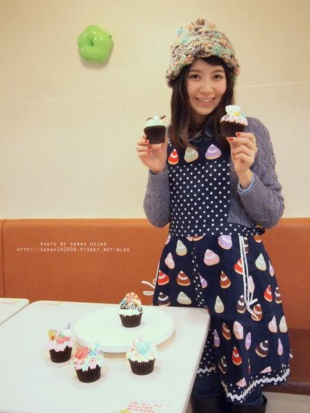 【一日小廚娘】only one cake杯子蛋糕裝飾DIY*人人都能當蛋糕小天后