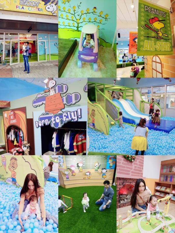 【育兒】SNOOPY Play Center 來了!全球第一家美國官方授權史努比主題親子樂園在華泰名品城outlet裡開幕囉!