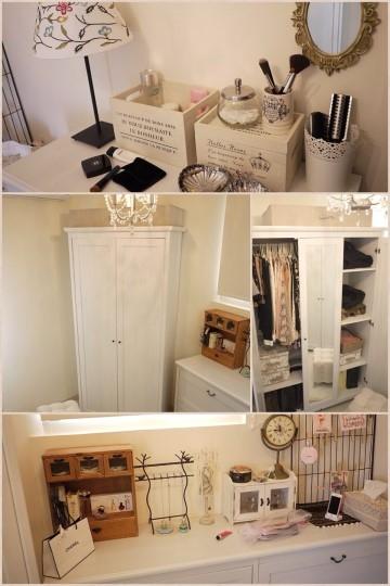 【新家佈置】Dressing Room:我的白色夢幻更衣室