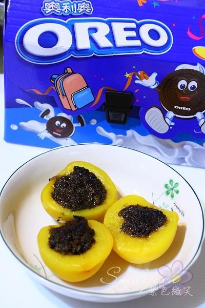 [創意組合小點心]OREO新滋味~蜜桃OREO的甜蜜混搭