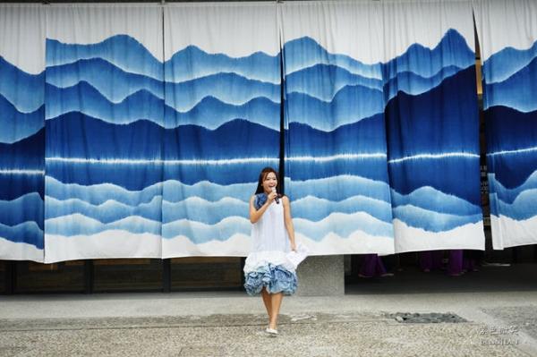 卓也藍染傳藝中心服裝秀 !!藍與白的組合創造無限可能