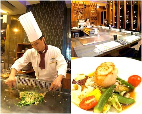▋台中餐廳▋北區.達樂士鐵板燒~精緻、美味的鐵板燒料理