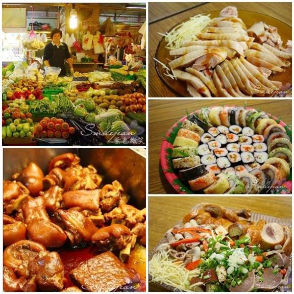 [樂活市集]彰化華陽市場-丁丁豬腳、滿蔬菜、鍾記牛羊