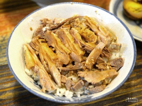 鴨寶鴨肉飯.宜蘭五結▋鴨肉飯香醇可口, 當歸鴨肉麵線整隻鴨腿好好味