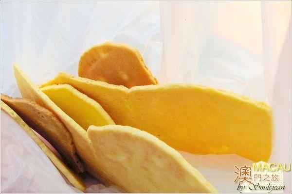 [澳門小吃]潘榮記-金錢餅
