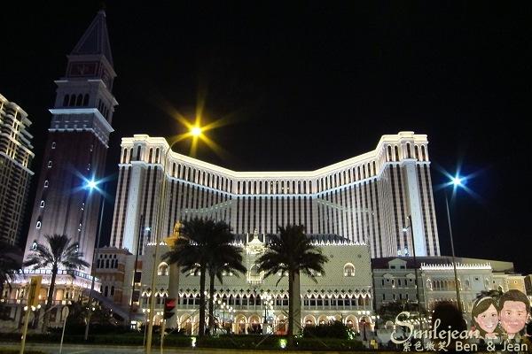 [澳門景點]威尼斯人夜酒店~愈夜愈美麗
