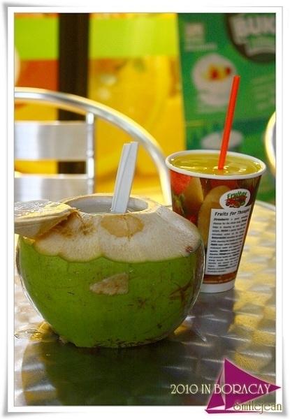 [長灘島自助旅行] fruitas果汁店 和 smoke餐廳