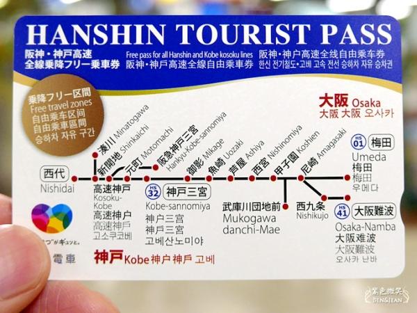 阪急阪神電車五日自由行攻略▋阪神電車一日券~大阪到神戶方便又快速的交通及神戶一日遊景點
