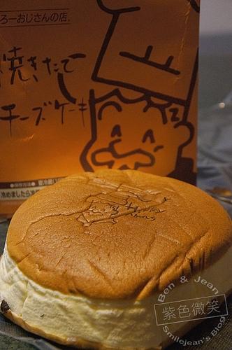 ▋日本大阪▋りくろ(Rikuro) 老爺爺起司蛋糕~簡單美味的幸福甜點