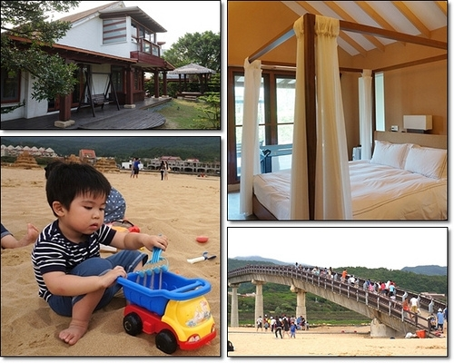 台北住宿▋福隆.福容大飯店~陽光、沙灘、比基尼。也很適合親子遊