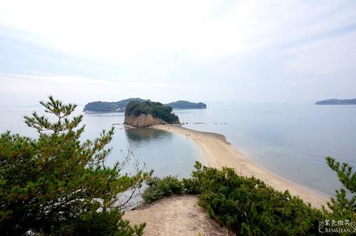 ▋四國/瀨戶內國際藝術季▋瀨戶內海藝術季 高松-小豆島交通和隨潮水起落的天使步道