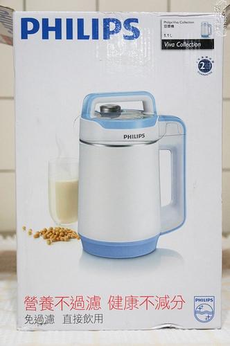 飛利浦全營養免濾豆漿濃湯機HD2069(2014年旗艦款)~用完輕鬆好洗、把黃豆的營養全喝下去