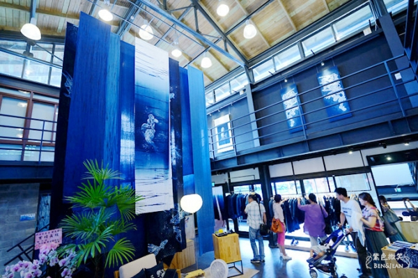 卓也藍染▋宜蘭傳藝中心~傳承國寶級工藝,是藝術品也可以是平易近人的生活小物