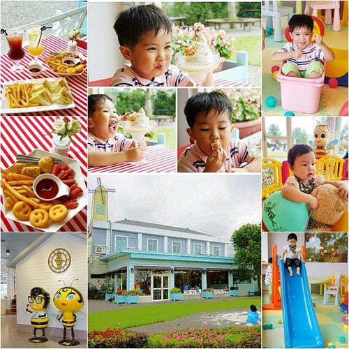 Honey Café輕食餐廳▋宜蘭員山~蜂采館(養蜂人家)自家蜂蜜融入精緻餐點,也很適合親子共遊