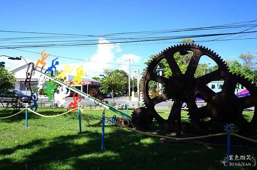 台東旅遊.這裏r台東原味工藝聚落(台東糖廠)~原住民工藝令人驚艷!! 還有樹皮做成的衣服別處看不到