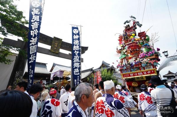 九州大分縣▋日田衹園祭山鉾巡行~力與美的活動更是老少動員薪火相傳的文化傳承