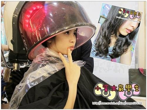 分享♥原來美人尖也能中分!【AT25國際髮型】副店長Nico