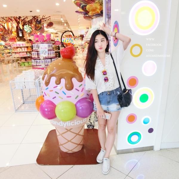 新加坡自由行Vivo City超殺底片超好拍的糖果店Candylicious