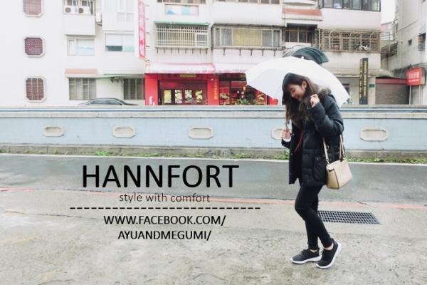 穿搭♥我的【HANNFORT】ICE超級凍感減壓氣墊運動休閒鞋/時尚機能鞋
