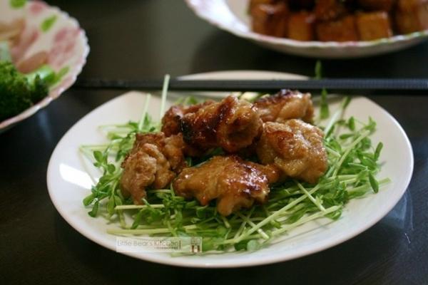 【食譜】TWINBIRD 油切氣炸烤箱—-唐揚炸雞