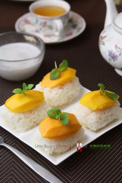 【食譜】泰式芒果椰汁米糕—幸福是心態