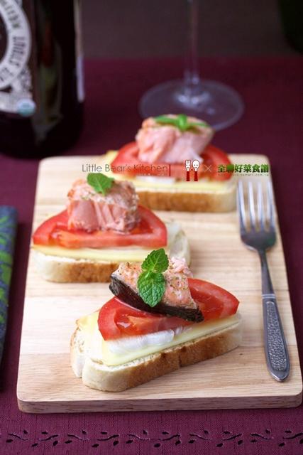 【食譜】鮭魚乳酪party小點心—超簡易新年點心