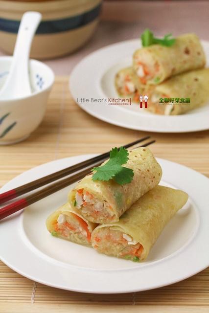 【食譜】蘿蔔絲春餅—清明節的潤餅新吃法