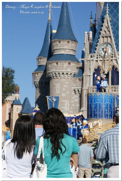 20081219陽光佛羅里達之行Day 4--Disney (Magic Kingtom)