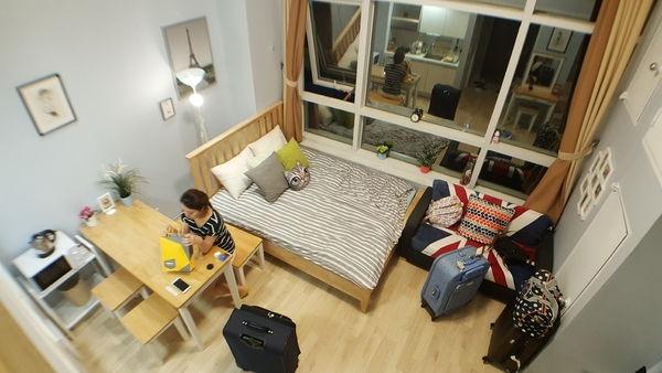 [首爾] Aribnb住宿推薦 ♥ 地鐵首爾站 四人房