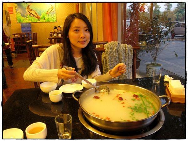 [溫江] 鮮美的魚片火鍋♥龍繼斑魚庄