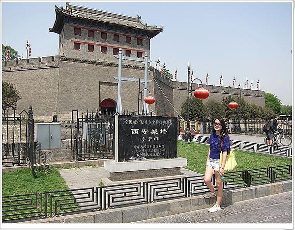 [西安] 城門城門雞蛋糕 ♥ 來爬西安城牆