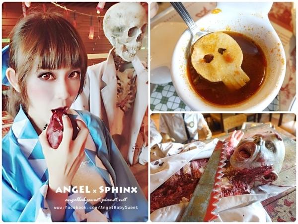 「香港」可愛又迷人的反派角色 鬼鬼同學陪你吃飯飯  海洋公園 + 迪士尼哈嚕喂