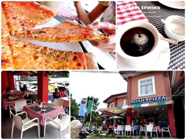 「宿霧」邦勞Panglao 轉角間的香酥,薄脆可口現烤披薩  Noah Pizza