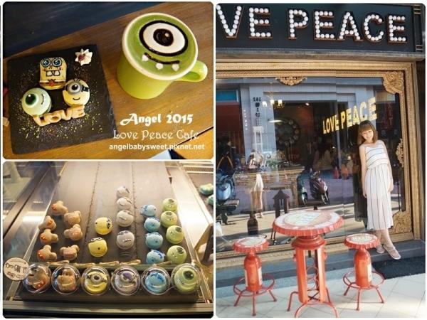 「台中逢甲」敲可愛馬卡龍,百老匯風格療育系小店Love Peace Café