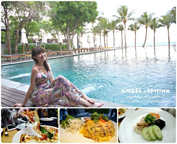 「泰國華欣」擁抱人間天堂  Rest Detail Hotel 迪泰爾度假酒店 / 自助早餐、無邊境泳池