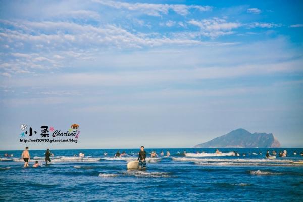【宜蘭頭城】外澳海邊衝浪天堂~海灘玩沙踏浪~飛行傘~外澳服務區~九號咖啡~龜山島相隨好放鬆