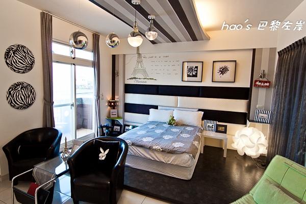 【宜蘭羅東】巴黎左岸、巴黎鐵塔 - 法式風情,充滿愛情與巧思的極時尚民宿(合作)