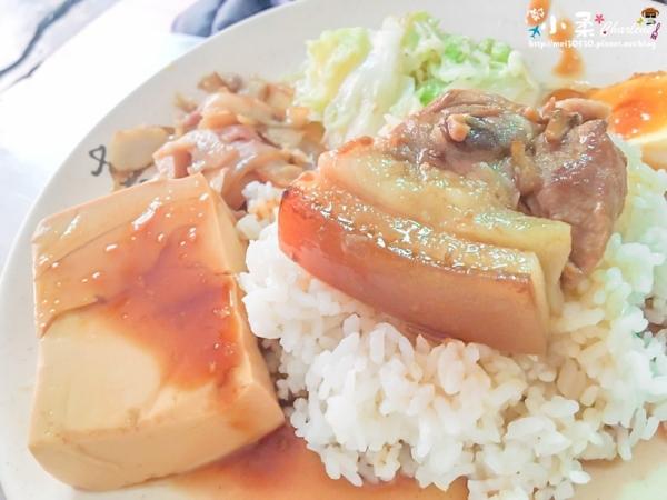【宜蘭市】東北角招牌魯肉飯/焢肉飯/豬腳飯-簡單的美味,學生尚歡喜銷魂小吃店~食尚玩家推薦庶民美食!