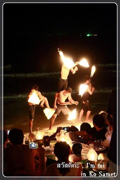 【泰國沙美島】POLY PUB & BAR- 無與倫比的火舞秀 ~
