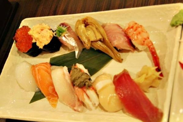 【台北文山】好吃~新鮮! 值得推薦的「竹壽司」