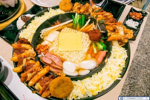 【宜蘭市】OMAYA春川炒雞-宜蘭車站美食,三五好友享用的起司饗宴,又辣又夠味的韓國味-韓式料理(體驗)