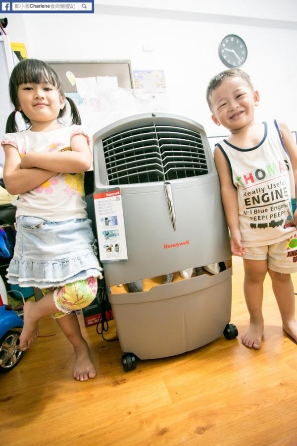 【網購家電】Honeywell移動式冷卻器(空氣水冷氣)CL30XC-節能省電環保~附活性碳濾網,可減少空氣中落塵~悶熱瞬間降溫~夏季消暑好朋友~小資族最愛(邀約)
