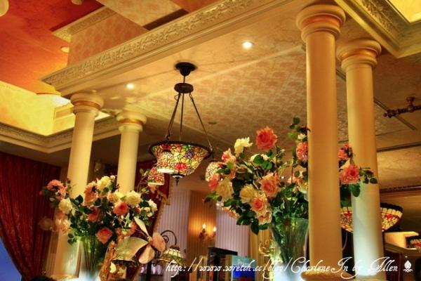 【台北】粉嫩甜蜜的幻想下午茶 台北東區  ~ 維多利亞花園 Victoria Garden ~