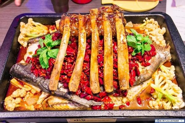 【新北中和】水貨(中和店)-全新開幕好吃餐廳推薦!上海最時尚烤魚品牌,一魚多吃好美味!COSTCO好事多旁(合作)