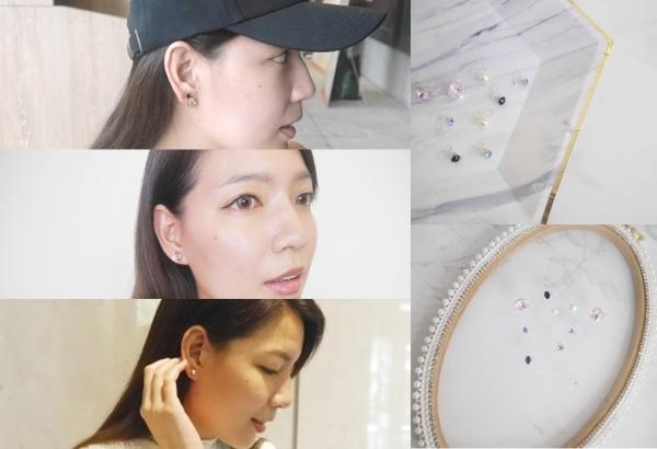 『要多戴幾個耳環自己決定』 - Miss.Yue 施華洛世奇夾式耳環