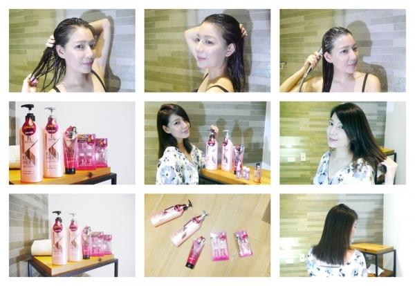 柔順輕盈的髮絲伴隨著迷人的果香味,強效護髮安瓶讓你隨時散出秀髮女神光 - 可瑞絲-珂夢修護系列